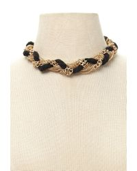 Forever 21 - Metallic Rope Chain Necklace - Lyst