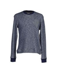 Obvious Basic | Blue Sweatshirt for Men | Lyst