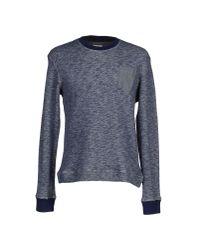 Obvious Basic | Blue Sweatshirt for Men | Lyst
