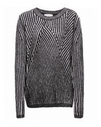 Paul by Paul Smith - Black Twist Knit Sweater - Lyst