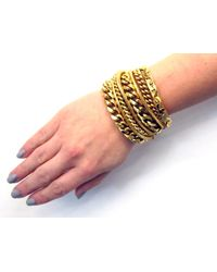 Lizzie Fortunato | Metallic The Renegade Bracelet | Lyst