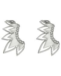 Sam Edelman | Metallic Open Tear Ear Cuff Earrings | Lyst