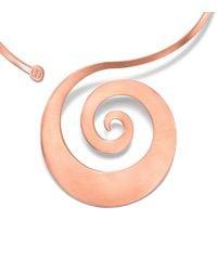 Tory Burch - Metallic Beatrix Collar Necklace - Lyst