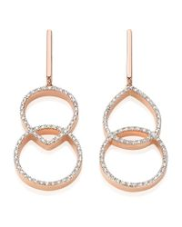 Monica Vinader | Metallic Naida Kiss Open Cocktail Earrings | Lyst