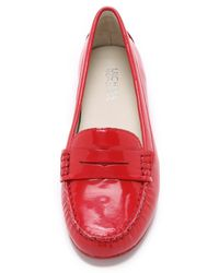 MICHAEL Michael Kors | Red Daisy Loafers - Chili | Lyst