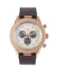 Givenchy | Pink Eleven Chronograph Watch Size Os | Lyst