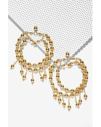 Nasty Gal | Metallic Ringleader Chandelier Earrings | Lyst