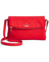 kate spade new york | Red Classic Nylon Mini Carson Bag | Lyst