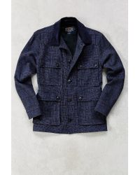 Pendleton - Blue Mission Field Coat for Men - Lyst