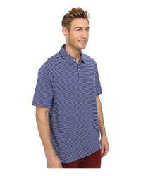 Vineyard Vines | Blue Stripe Jersey Polo for Men | Lyst