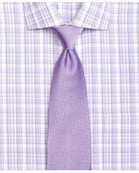 Brooks Brothers - Purple Tonal Basketweave Tie for Men - Lyst
