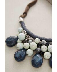 Anthropologie | Blue Sensoria Bib Necklace | Lyst