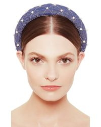 Masterpeace - Blue Aunt Gala Headband - Lyst