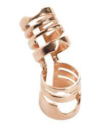 Bjorg | Metallic Ring | Lyst