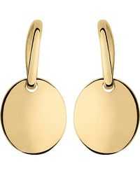 Links of London - Metallic Grace Yellow Gold Vermeil Single Drop Earrings - Lyst