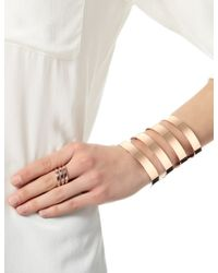 Iam By Ileana Makri | Pink Rose Gold Ziggy Arm Cuff | Lyst