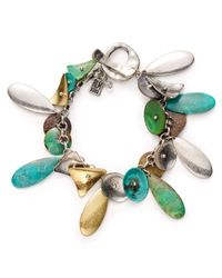 Robert Lee Morris | Multicolor Patina Charm Bracelet | Lyst