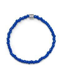 Club Monaco - Blue Luis Morais Barrel Bracelet for Men - Lyst