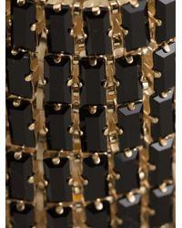 Giuseppe Zanotti - Black Embellished Cuff - Lyst