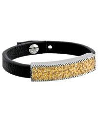 Jessica Simpson | Metallic Cobblestone Bracelet | Lyst