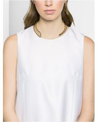 BaubleBar | Metallic Eve Asymmetrical Collar-gold | Lyst