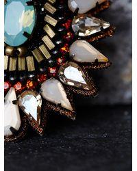 Free People - Multicolor Deepa Gurnani Womens Athena Statement Earring - Lyst