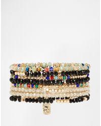 ALDO | Multicolor Beilby Hamza Hand & Eye Multipack Bracelets | Lyst