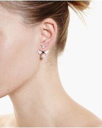Yvonne Léon - Metallic 18K Gold, Diamond And Sapphire Bee Earring - Lyst