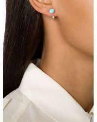 Pamela Love | Blue 'gravitation' Earrings | Lyst