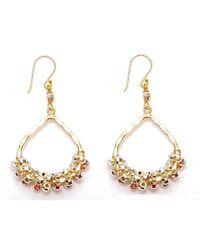 Nakamol | Multicolor Wishbone Earrings-silver/gold | Lyst
