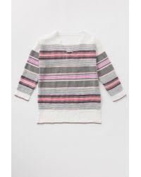 lemlem | Pink Aranya V Neck Tunic | Lyst