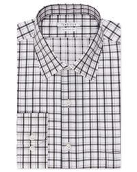 Van Heusen | Blue Big And Tall Licorice Check Dress Shirt for Men | Lyst