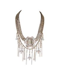 Ziba | Metallic Hypatia Statement Necklace | Lyst