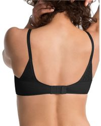 Spanx | Black Pillow Cup Smoother Full Coverage Bra | Lyst