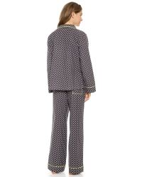 Honeydew Intimates - Gray Toasty Flannel Pj Set - Dot - Lyst