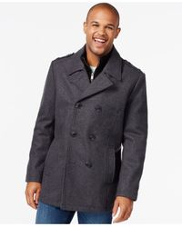 Marc New York | Gray Joshua Wool-blend Coat for Men | Lyst