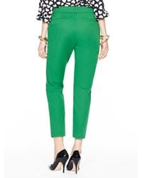 Kate Spade | Green Margaux Pant | Lyst