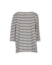 Erika Cavallini Semi Couture - Natural T-shirt - Lyst