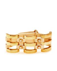 Henri Bendel | Metallic The Ace Cage Cuff | Lyst