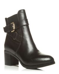 Moda In Pelle | Black Arona Medium Smart Short Boots | Lyst