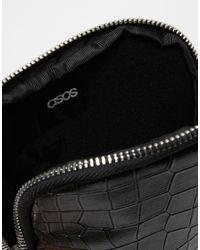 ASOS - Ipad Mini Case In Black Faux Croc for Men - Lyst
