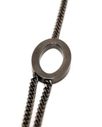 Rebecca | Metallic 'Elizabeth' Necklace | Lyst