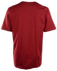 Nike - Red Men's Short-sleeve Oklahoma Sooners Wordmark T-shirt for Men - Lyst