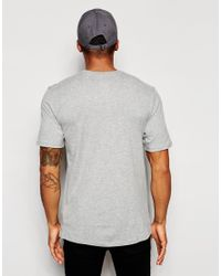 Nike | Gray Futura T-shirt With Large Logo 696707-064 for Men | Lyst