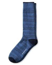 Banana Republic | Blue Stripe Sock for Men | Lyst