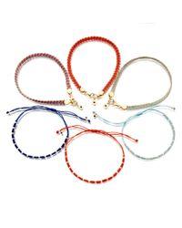 Astley Clarke | Metallic Hope Biography Skinny Bracelet | Lyst