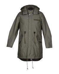 Cheap Monday - Green Coat for Men - Lyst