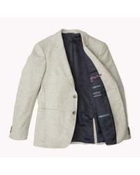 Tommy Hilfiger | Gray Wool Blend Slim Fit Suit for Men | Lyst