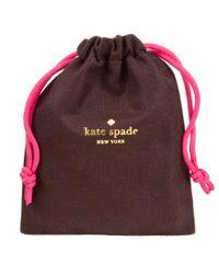 kate spade new york Metallic Leverbacks Body Pearl Drop Earrings