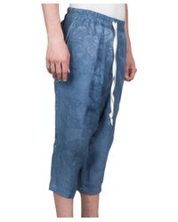 By Walid - Blue Fred Cotton Pants - Lyst
